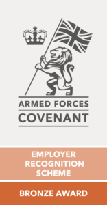 Absolute Defence Armed Forces Covenant - Employer Recognition Scheme Bronze Award 2021